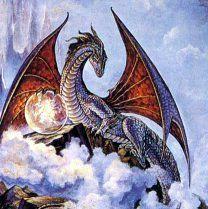 Le dragon de nuage, la magie et lui ne font qu'un.