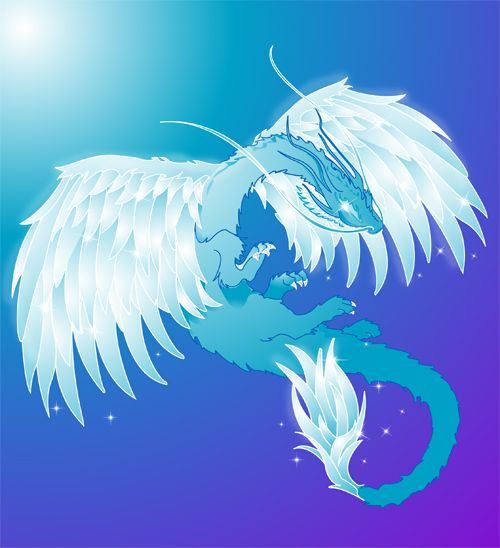 Le dragon de l'air, aussi fluide et insaisisable qu'elle.