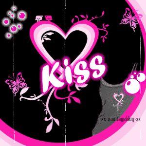 kiss a touses