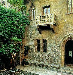 casa di Giulietta a Verona