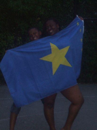 moi et la belle vicky...congo represent!!!!!