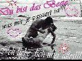 DU BIST DAS BESTE WAS MIR JE PASSIRT  IST    LOVE