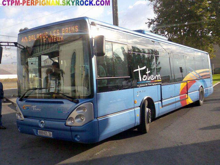 Irisbus Citelis 12 EEV du réseau Totem (Sète)