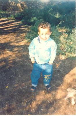 c'est moi quand j'était petit a 4 ans