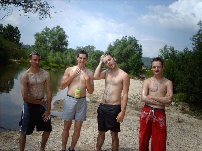 Baignade a la Meuse