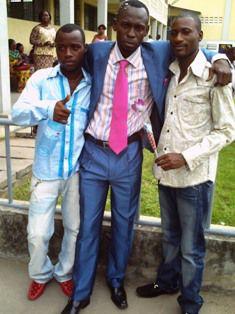Moi et mes deux frères Eder Sukisa et Yannick Lelo