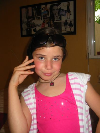Méryl ma tite cousine une future star