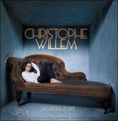 """Pochette du single """"Jacques à dit"""" de Christophe Willem."""