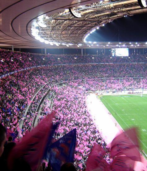 Mon bonheur O stade de France !