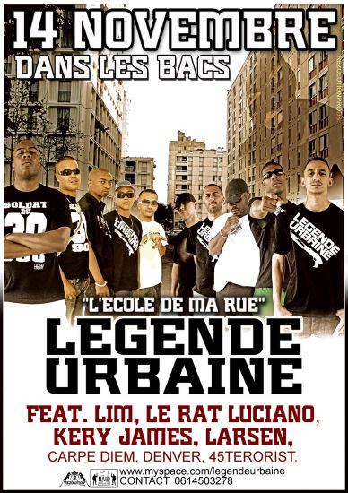 LEGENDE URBAINE - L'ECOLE DE MA RUE - 14.11.07