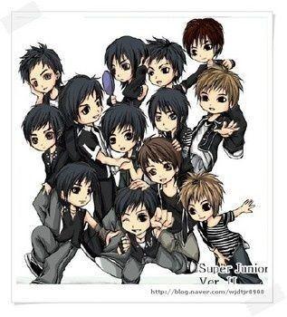 Super Junior Version  Manga