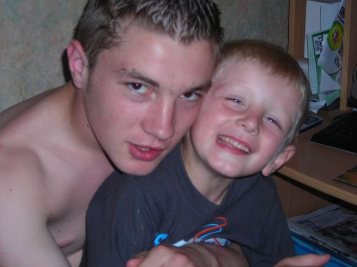 moi et mon ti frère