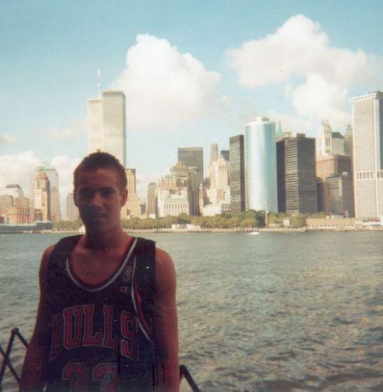 Moi à l'an 2000 à N.Y.C.