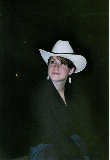 moi en mode cowgirl