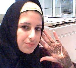 cuando me pinte el henna