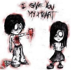 i give you my hearth
