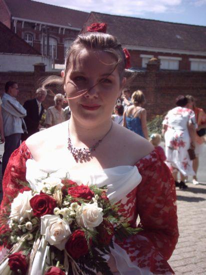 en mode mariée