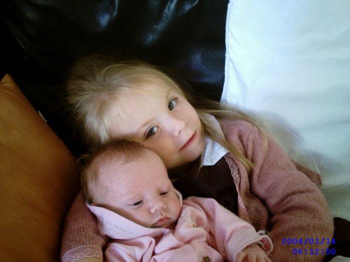 Voici mes deux petites merveilles