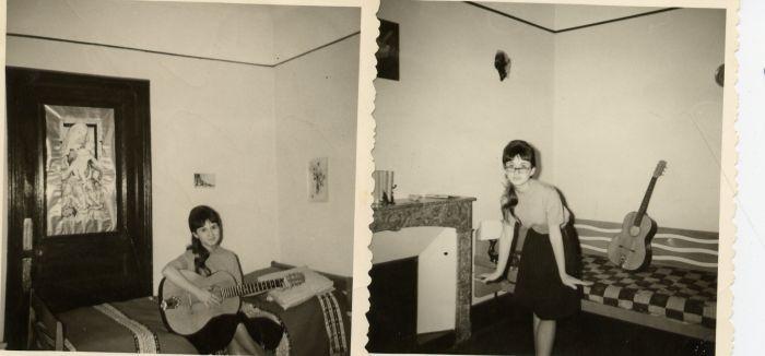 1958 chez mon parrain