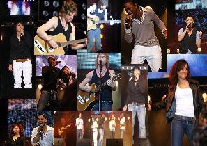 montage du concert