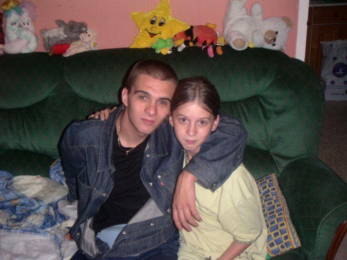 ma tite cousine et moi