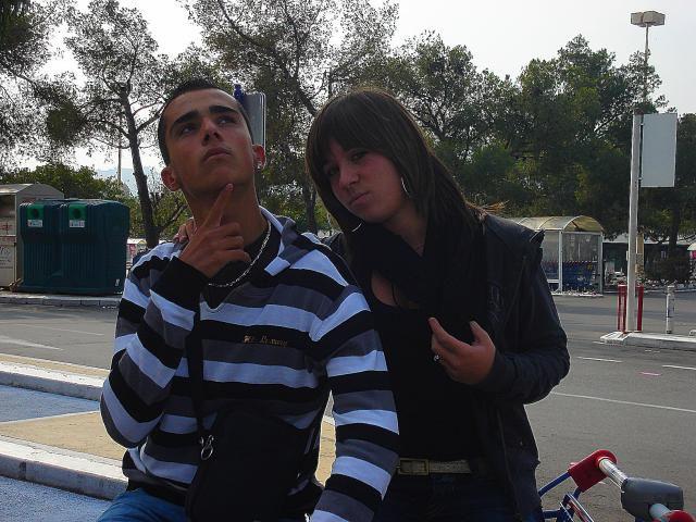 Moi & Cindy @ Carrefour
