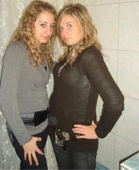 encore fanny (droite) et moi
