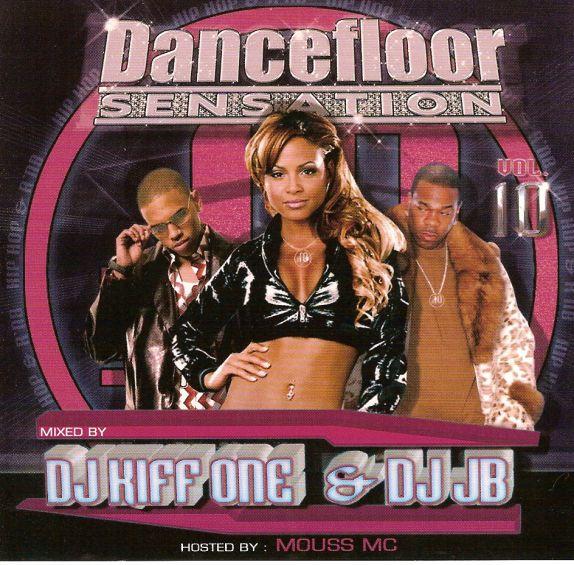 pochette dancefloor sensation 10