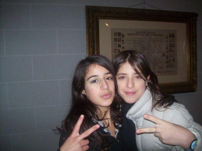 2 amigas: A Sofia e a Catia