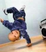 mon fils future danceur lol