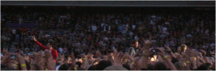Parc des Princes 23/06/07 : L'arrivée