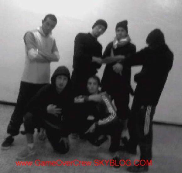 Band Oldschool bboy Game Over Crew