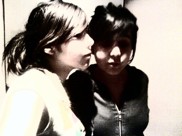 Polyne & moi.