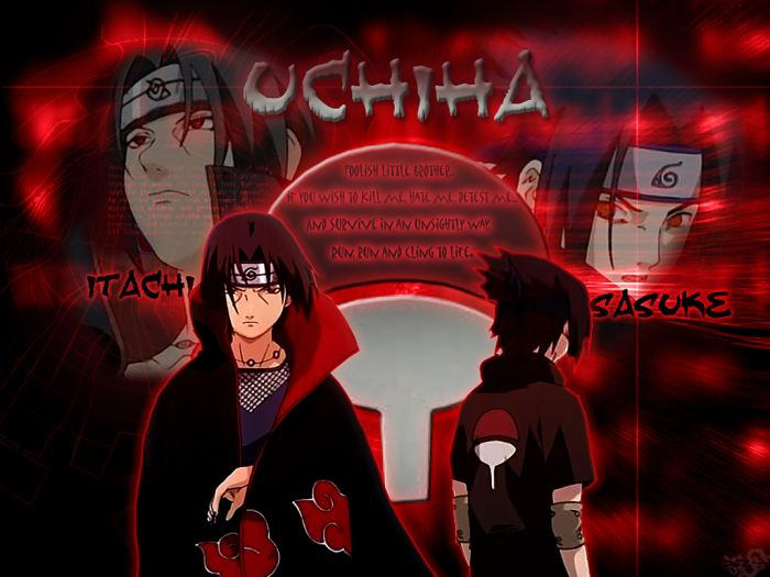 sasuke et itachi uchiwa