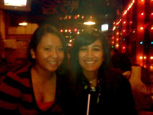 Pooja and Me in Hooters