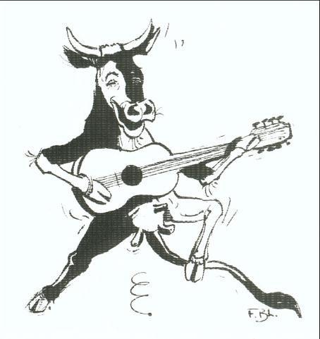 ma vache est trop hott elle joue de la guitard :)