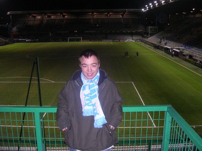 moi o stade deschamps à Auxerre