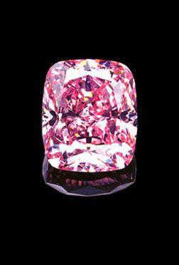 Toute la noblesse et la splendeur du diamant rose