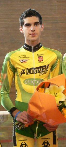 champion d'aquitaine sur piste