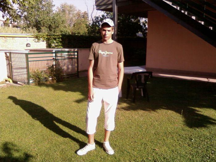 Moi en italie pendant l'été 2007
