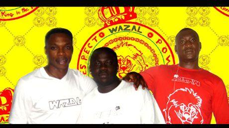 karlos   et  oliviera  soutient  la marque  wazal