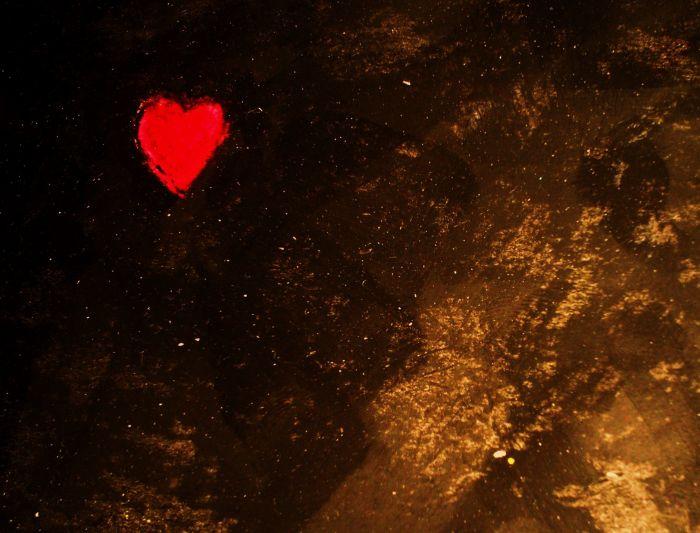 Mon coeur, en fraise tagada.