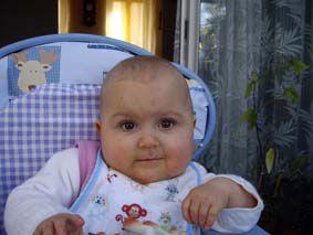 Ma dernière nièce Maélyne, un amour!!!!