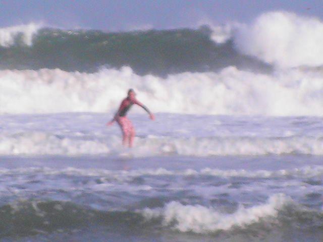 biarritz mes premier surf lol été 2007