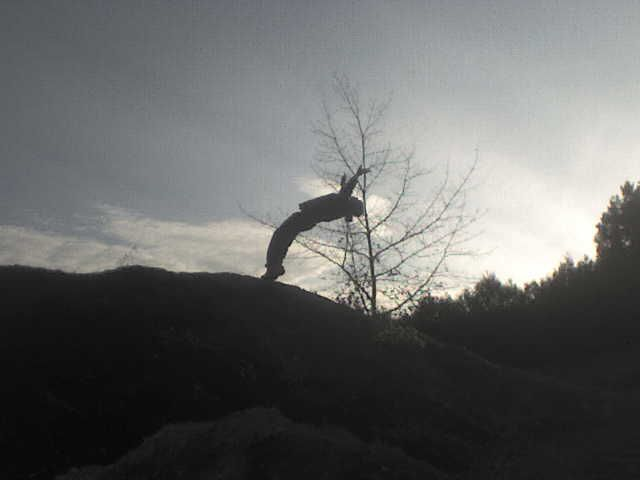 Guillaume salto arriére :-)