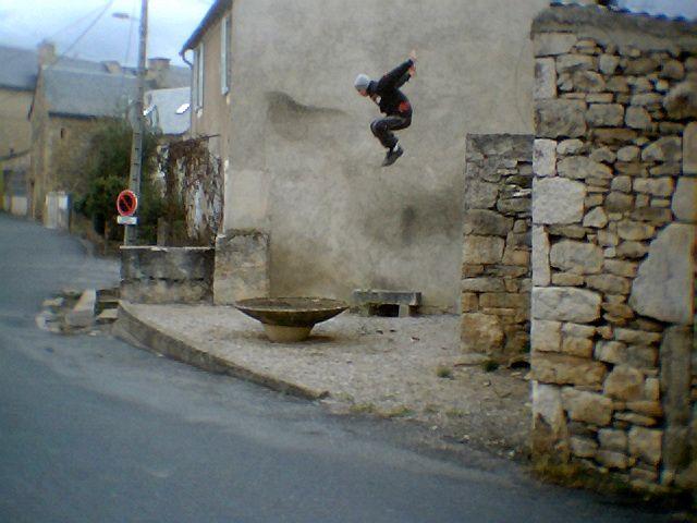 Mike saut de fond o_0