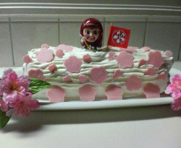 Un gâteau 1000% so drôle! A cake 1000% so funny!