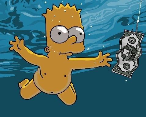"xD! tro for cet parodie de ""nevermind"" 1 album de nirvana"