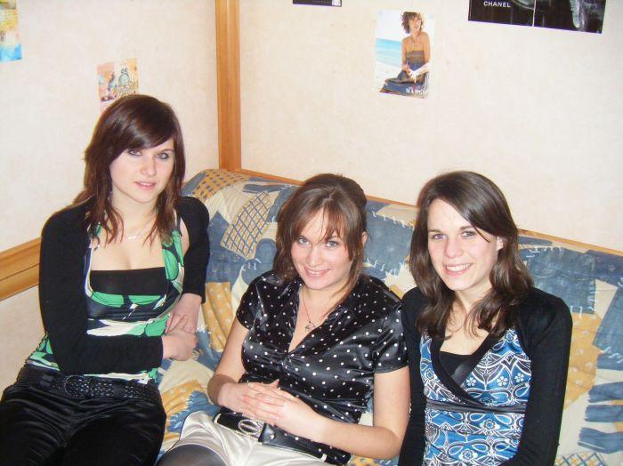 Mes coupines (Jess, Lo' et Aurélie)