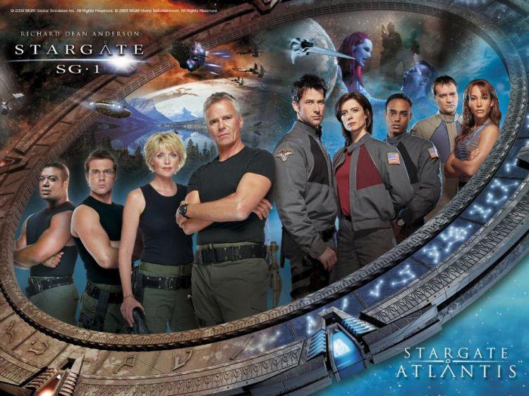 Stargate SG1 et Atlantis